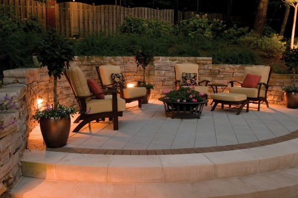 How to install outdoor low voltage LED step lights