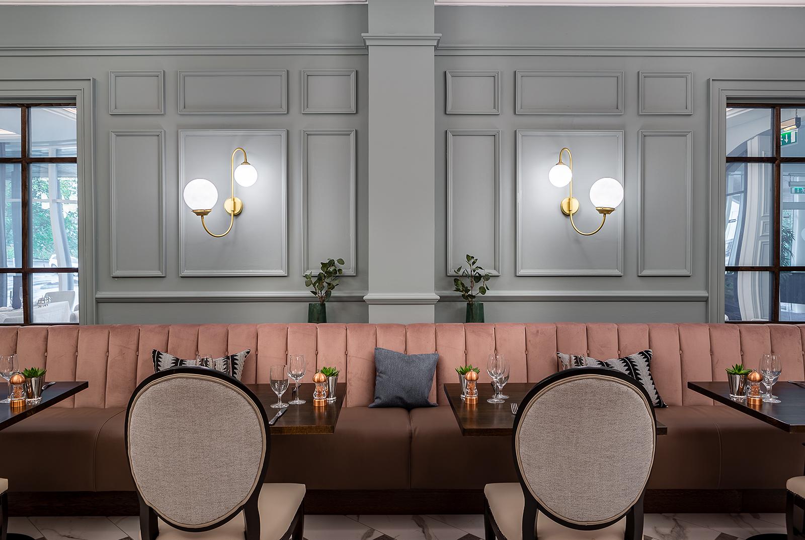 Bespoke Elegant Light Fittings in this Stunning Laois Hotel
