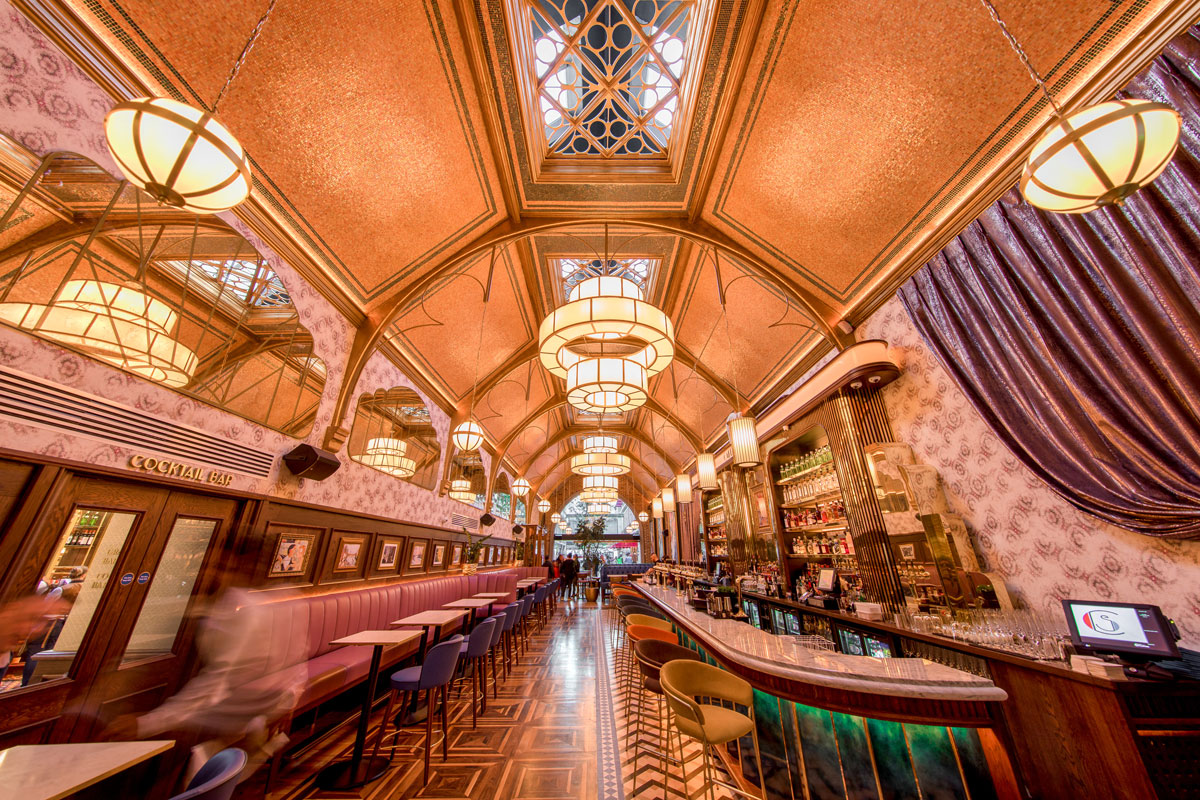 We Manufactured These Bespoke Light Fixtures for Dublin's Iconic Café En Seine