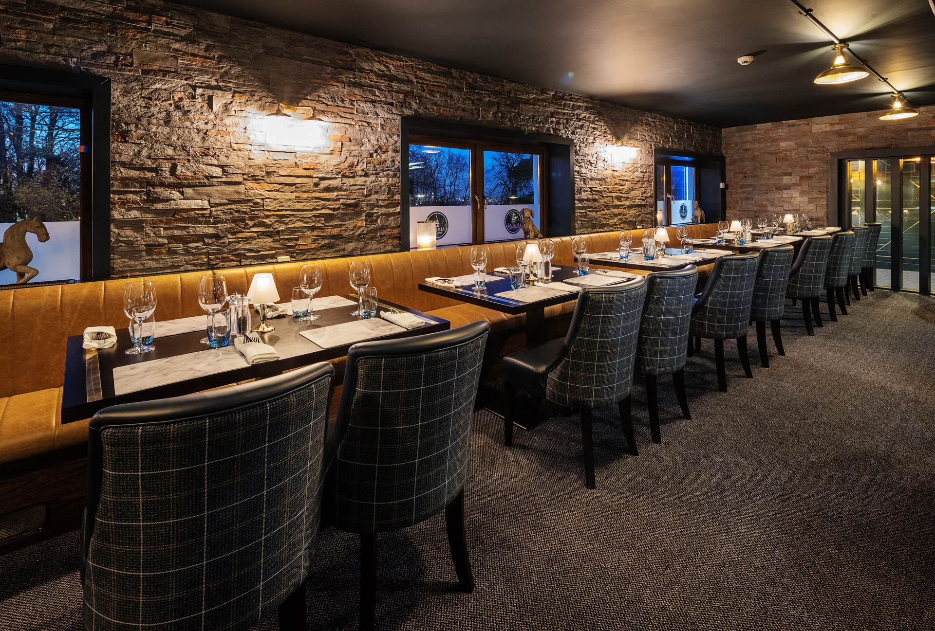 Our Geneva ceiling lights feature in this 18th century castle hotel in Ireland