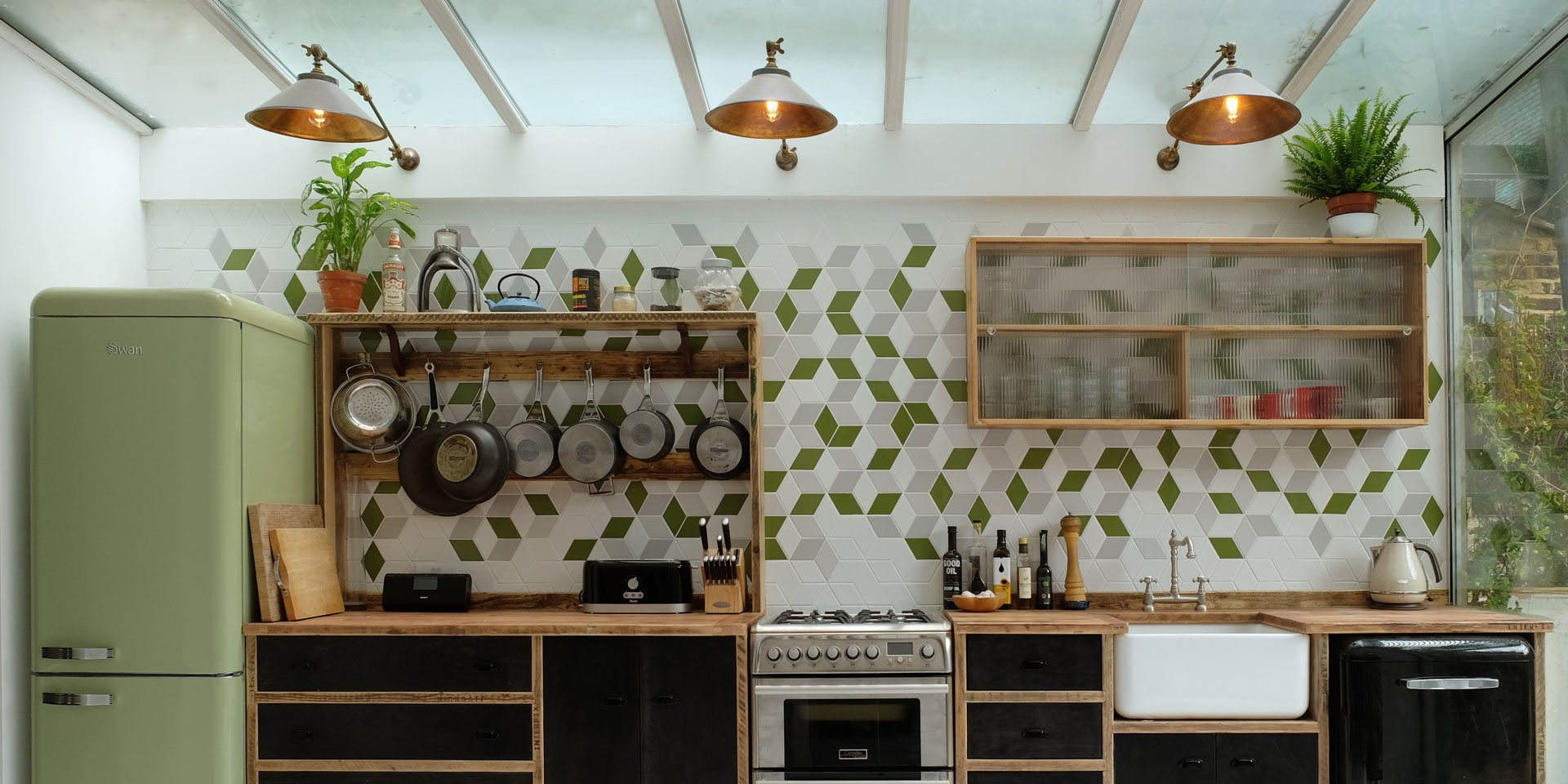 Three unique lighting ideas for your kitchen
