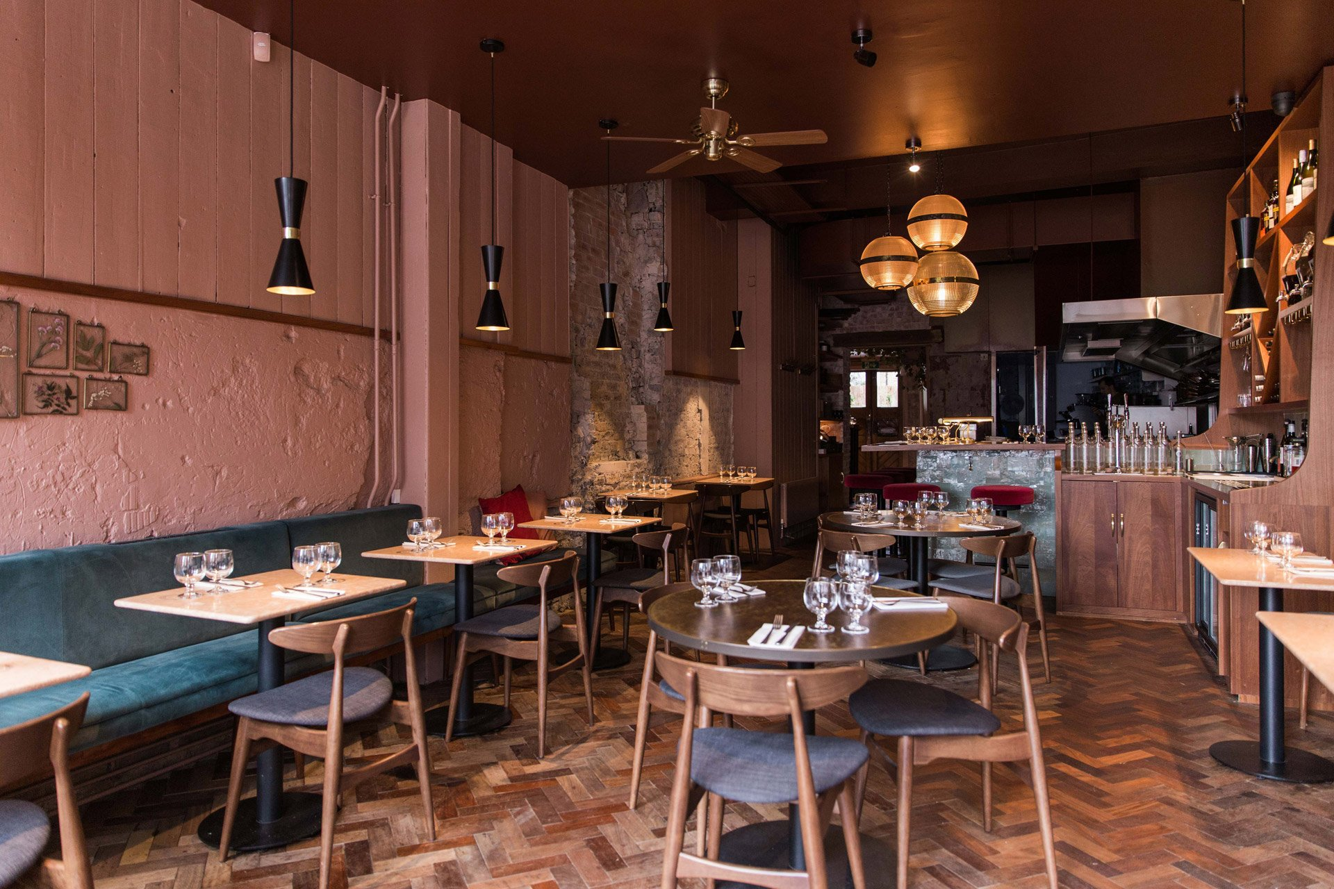 Kudos for Kudu, a new London restaurant featuring our Cairo pendants