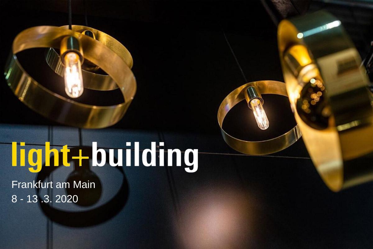 Guten Tag Frankfurt! We're exhibiting at Light + Building in March [Postponed]