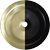 Matte Black / Satin Brass