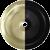 Powder Coated Matte Black & Satin Brass Inner