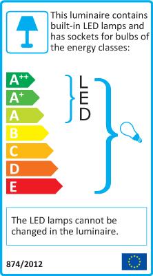Standard + integrated LED